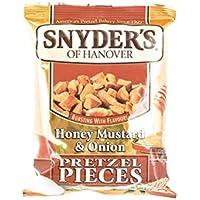 Snyder\'s Miel Mostaza Cebolla Pedazos De Pretzel 125g
