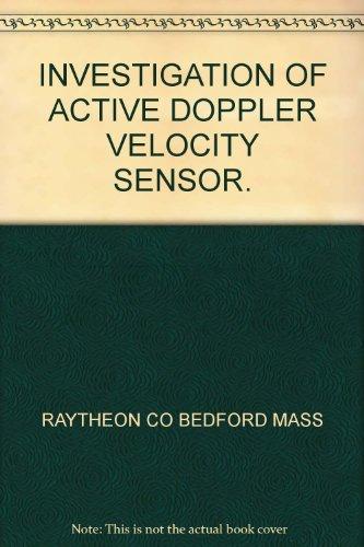 investigation-of-active-doppler-velocity-sensor