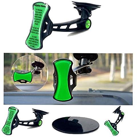 360° Grip Go Car support de pare-brise à ventouse pour Apple iPhone 6, 6Plus, 3, 3G, 4, 4G, 4S, 5, 5S, SE, 6s