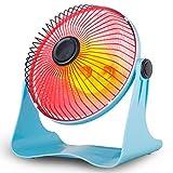 Heizlüfter Creative Light- 1W-1500W Heizung Mini-Energiespar-Dump Shutdown Mute Elektro-Ofen Kreative Nicht brennbare Halogen-Rohr-Familie der Company Dorm Room