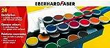 Eberhard Faber 24er Deckfarbkasten in stabiler Kunststoff-Box