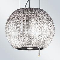 Elica Star Isola cappa aspirante/vetro/acciaio inox 47cm