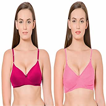 Best Quality Pink Pink Bra Combo