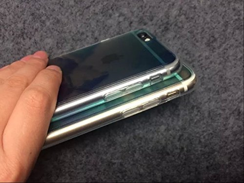 Vandot iPhone 7Plus Case ultra-thin ultra-light Slim Schutzhülle TPU Silikon Bumper Case Cover Hart PC Kunststoff Schutzhülle für iPhone 7Plus etui-encre D 'Art großen Blütenblätter Color 4