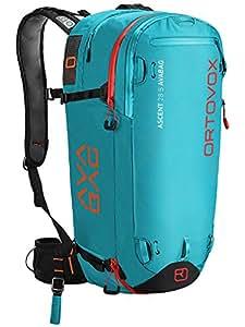 Ortovox Damen Ascent 28 S inklusive Avabag Rucksack, Aqua, 54 x 26 x 19 cm, 28 Liter