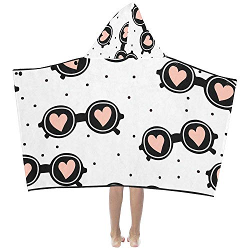 Coole Mode Sonnenbrillen weiche warme Kinder verkleiden sich mit Kapuze tragbare Decke Badetücher werfen Wrap für Kleinkinder Kind Mädchen Jungen Größe Home Reise Picknick Schlaf Geschenk -
