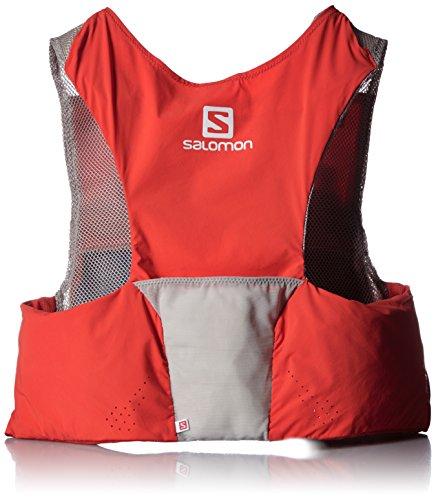 Salomon S Lab Sense Ultra Set - Mochila, Color Rojo, Talla XL