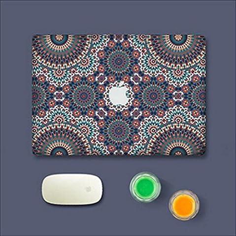 Sticker Macbook, Morbuy Créatif Fluorescence Style Full-Cover Adhésif protecteur adhésif
