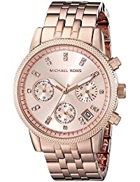 Michael Kors Analog Rose Dial Women's Watch - MK6077