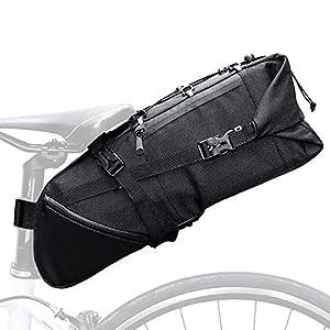 51vAeM8jP L. SS300 JEEZAO Bicicletta Borsa da Sella 10L MTB Bike Bag Bicicletta Sella Posteriore Coda di Stoccaggio Borse Accessori Panno di Oxford