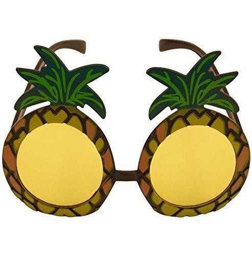 1 x Hawaiisch Weihnachts Party Multifarben Riesiges Ananas Gläser für (Express Ananas Kostüm)