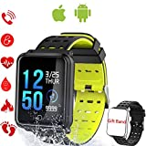 TagoBee TB06 IP68 Waterproof Bluetooth SmartWatch HD Touch Screen Fitness Tracker Support Blood