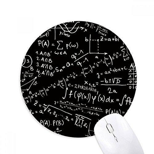 Sucht Formel (DIYthinker Sucht Limits Formeln Wissenschaft Calculus Abbildung Runde Griffige Gummi Mousepad Spiel Büro Mauspad Geschenk)