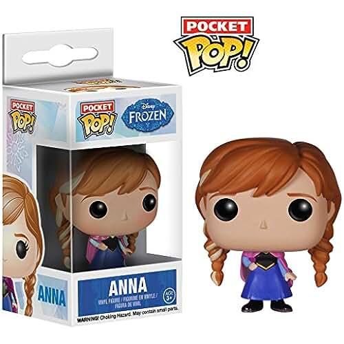 munecos pop kawaii Figura Pocket POP Anna Frozen Disney