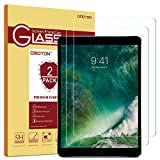 [Lot de 2] New iPad 2018/ iPad 2017/iPad Air/ iPad Pro 9.7 Film Protection Verre Trempé, OMOTON Protecteur Ecran (9H, Sans Bulles, Transparent)