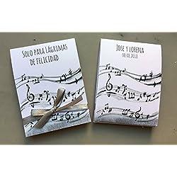 Lágrimas de Felicidad tema musical. Personalizable. 70 unidades.