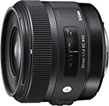 Sigma 30mm f/1.4 DC HSM Fit Lens for Canon