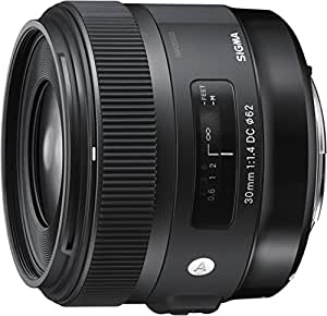 Sigma 30mm f1,4 DC HSM Objektiv (Filtergewinde 62mm) für Sigma Objektivbajonett