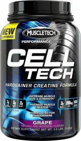 MUSCLETECH CELL TECH PERF,GRAPE, 3 LB, EA-1 by MUSCLETECH