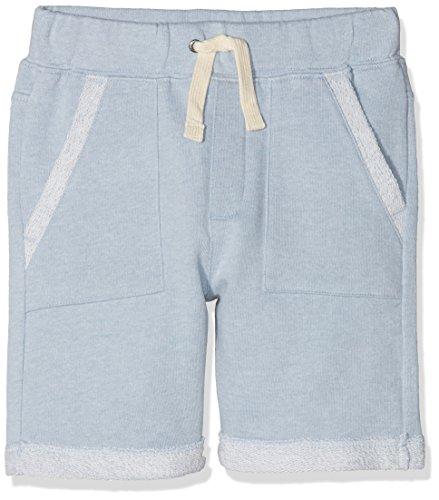 ESPRIT Kids Jungen Shorts RL2311405, Blau (Light Heather Blue 406), 128 (Herstellergröße: 128/134)