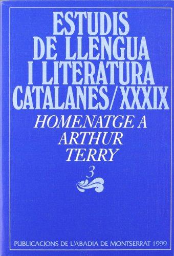 Homenatge a Arthur Terry, 3 (Estudis de Llengua i Literatura Catalanes)