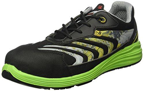 Giasco UP071EV41 Virgo Chaussures de sécurité bas S1P Taille 41 Noir/Vert