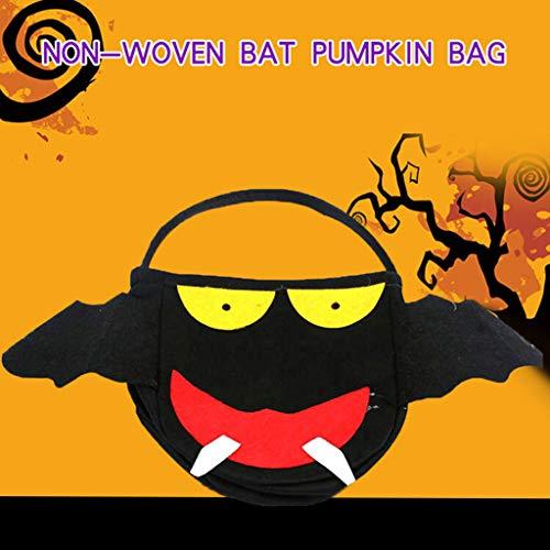 Dkings Halloween Candy Handtasche, Halloween Trick oder behandeln Candy Aufbewahrungstasche, für Halloween behandelt Taschen, Halloween Party Gefälligkeiten, Halloween Party liefert