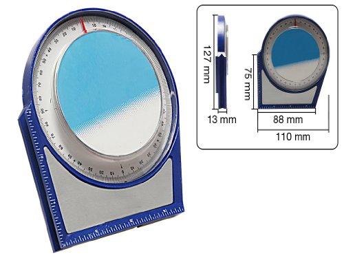 Neigungsmesser Durchmesser 100 mm mit Magnet