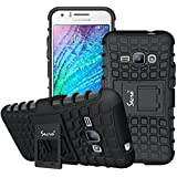 Secro Galaxy J2 Cover Case Flip Kick Stand Spider Dual Rugged Armor Back Case for Samsung Galaxy J2 Sm-J200F(2015 Edition)