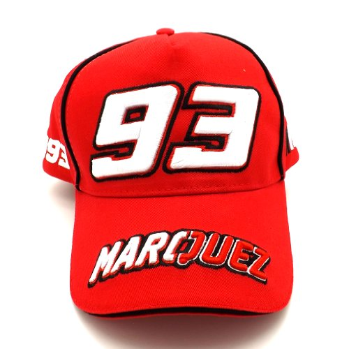 Marc Marquez 93 Marquez Moto GP Baseball Cap in rot Official 2016 (Marc Baseball)