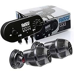 Hydor Koralia Reef Kit 1600 - SmartWave Pump Controller completo di 2 pompe di movimento Koralia Nano 1600