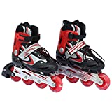 Inline Skate Shoes Adjustable Size 39 to...