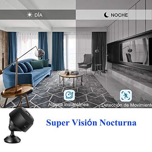 amaes Mini Telecamera Spia Nascosta 1080P HD WiFi Camera con ...