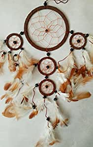 SUEDE LEATHER DREAM CATCHER BEAUTIFUL ITEM DREAMCATCHER OTHER COLOURS ARE AVAILABLE