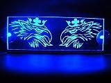 24V LED Kabine Innen Teller Griffin für Scania Trucks Illuminating Tisch Schild (blau)