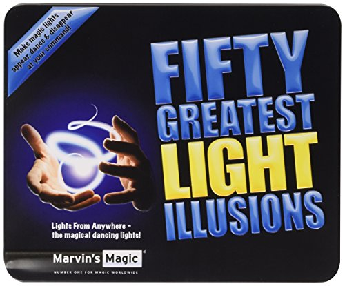 Marvin's Magic Fifty Greatest Light Illusions Trick Set (Adult) - Perfect for Halloween Magical tricks - Gift Set -Professional Magic made easy