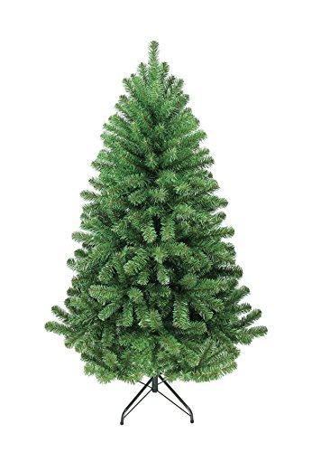 Dekoflower - Weihnachtsbaum Christbaum Tannenbaum Model Nordmann 150 cm grün aus PVC Kunststoff