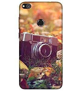 For Huawei Honor 8 camera, old camera, vintage camera Designer Printed High Quality Smooth Matte Protective Mobile Pouch Back Case Cover by BUZZWORLD