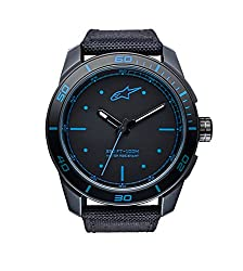 Alpinestars Analog Klassisch Quarz Uhr mit Nylon Armband 1017-96037