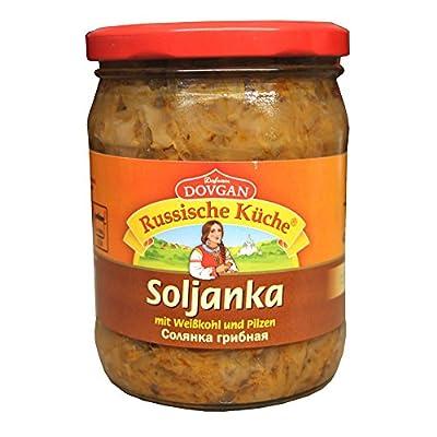 Dovgan Soljanka mit Pilze Gemüseeintopf, 5er Pack (5 x 480 g)