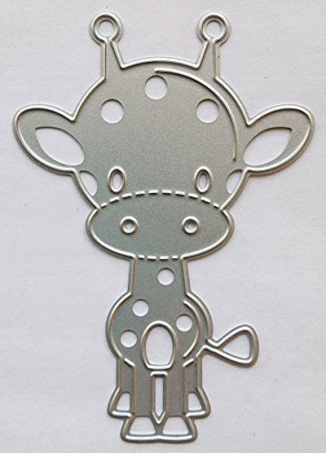 Unbekannt Scrapbooking Stanzschablone, Schablonen für Scrapbooking in verschiedene Formen und Motiven (Giraffe)