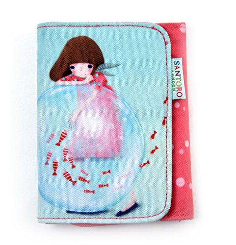 Little Fishes - Double Fold Wallet By Kori Kumi (Double Fold Wallet)