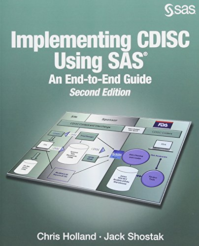 IMPLEMENTING CDISC USING SAS por Chris Holland