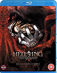Hellsing Ultimate Parts 1-4 Collection Blu-ray