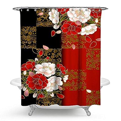 Kisy japonais Motif style ethnique Fleur imperméable à l