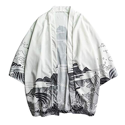Weste Bluse Fashion Lovers Individualität Print Top Bluse Kimono Hot Spring Kleidung