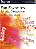 Fun Favorites for 1-3 Alto Saxophones, m. Audio-CD
