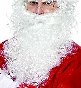 Rubies Intex-it00028barba Papá Noel, lujo, Talla única