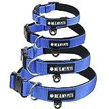Me & My Pets Gepolstertes Neopren-Hundehalsband in Blau