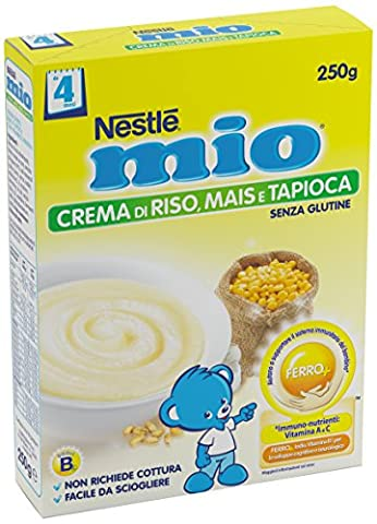 Nestlé My Cream Corn Gluten Free Rice Et Tapioca 250g